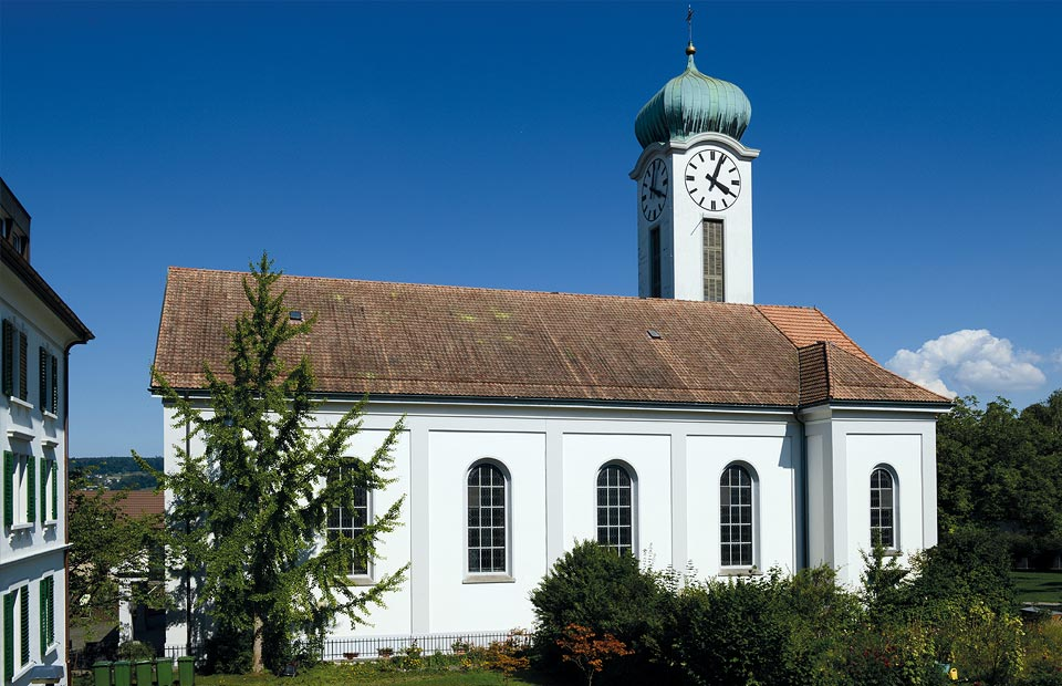 Reformierte Strenge in einer katholischen Kirche: St. Felix und Regula